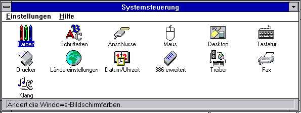 win311systemsteuerung